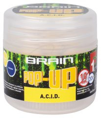 Бойлы Brain Pop-Up F1 A.C.I.D (лимон) 10mm 20g