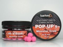 Baitex Classic Pop-Ups Monster Crab-10мм (45 шт) [Краб]