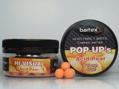 Baitex Classic Pop-Ups Acid Pear-10мм (45шт) [Груша]