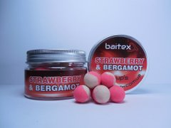Baitex Бойлы Pop-up Strawberry & Bergamot-10мм (40шт)