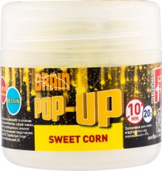 Бойлы Brain Pop-Up F1 Sweet Corn (кукуруза) 10 mm 20 gr