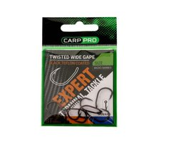 Крючки Carp Pro Twisted Wide Gape BT Series №8